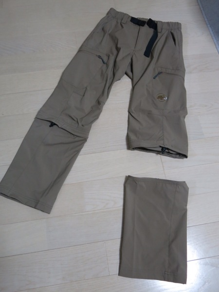 MANMUT TUFF LIGHT STRETCH 3/4 2 IN 1 PANTS
