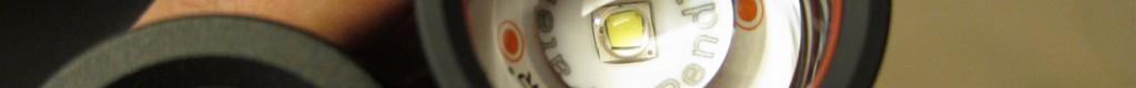 レンズ性能の向上でワイド側の照射ムラが殆ど無くなった新型レッドレンザーP7