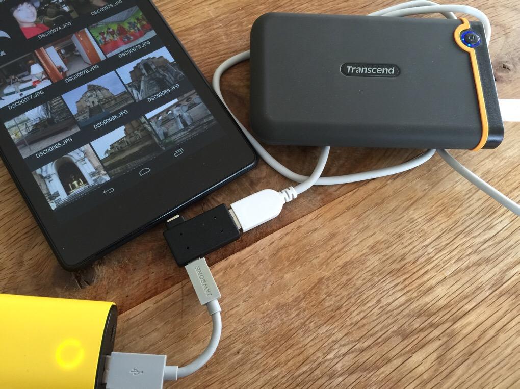 pocketgames】USB機器への給電機能付き!スマートフォン対応 ポケットホストアダプタ microUSB セルフパワー
