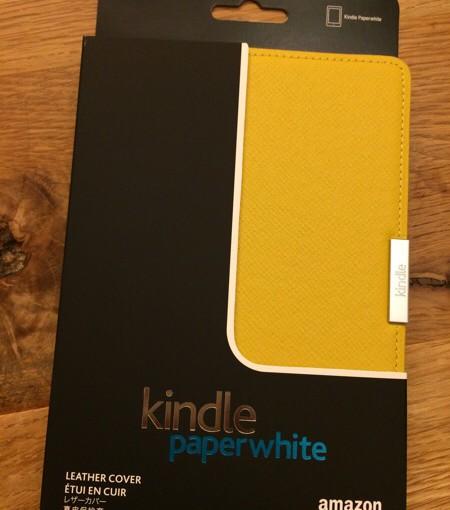 Kindle Paperwhite2015に純正カバーを装着してみた