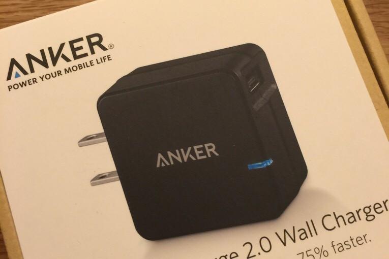 AnkerのQuick Charge対応USB充電器がZenfone2に好相性だった件