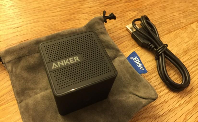 Ankerの超小型モバイルスピーカーが携行性抜群で小旅行に良い感じ