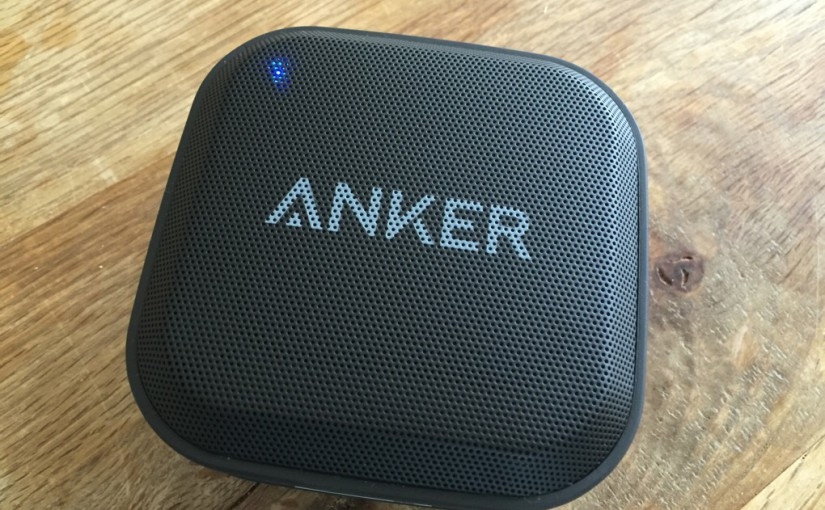 AnkerのIPX7防水Bluetoothスピーカーを買ってみたわけですが