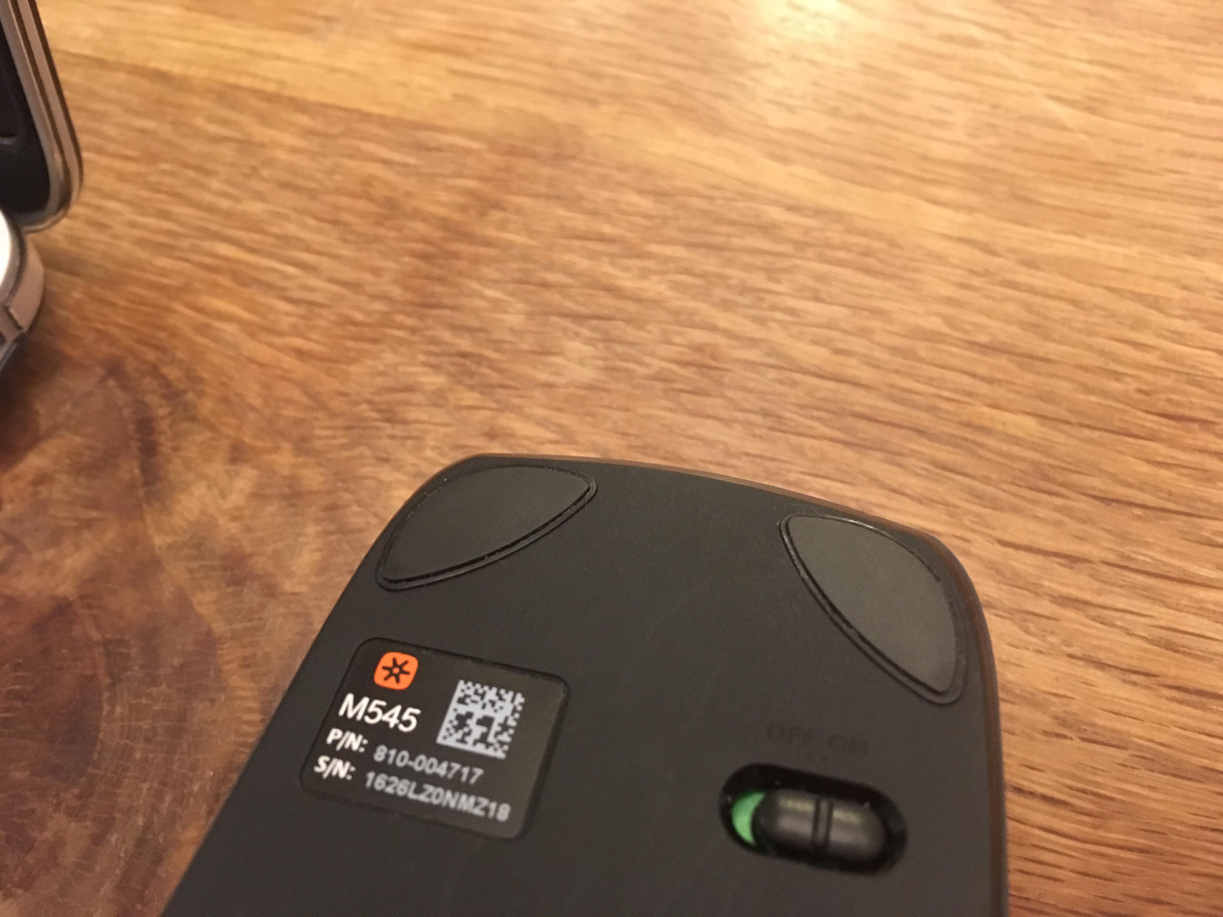 Logicool ロジクール ワイヤレスマウス ブラック M545BK