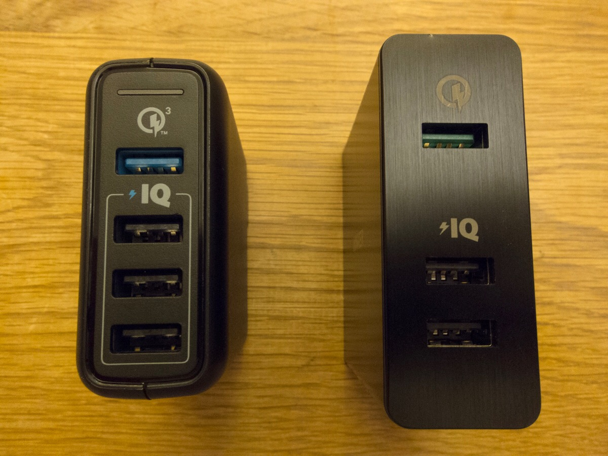 Anker PowerPort Speed 4 (QC3.0搭載、43.5W 4ポート USB急速充電器