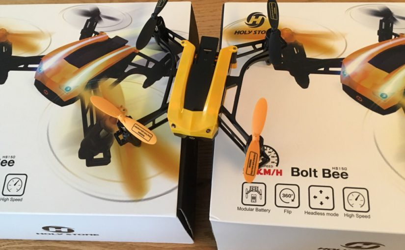 3台目のHoly Stone Bolt Bee(代替機)入手