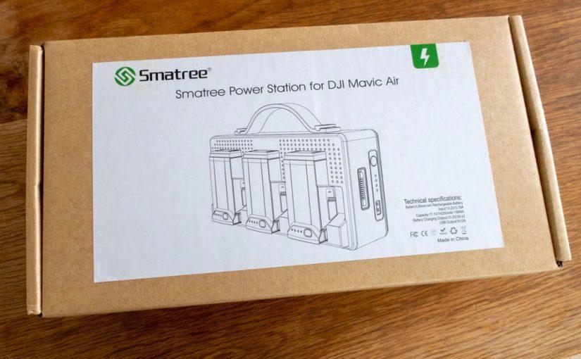 Mavic Air専用のモバイル充電ハブ Smatree DP160が届いた