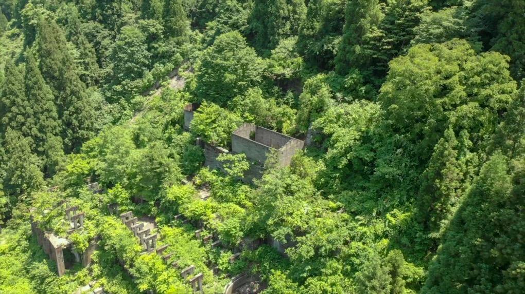 高倉鉱山跡