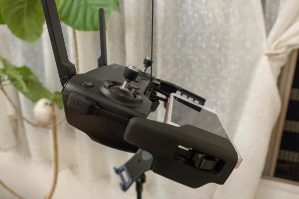 Mavic Air送信機に取り付けるネックストラップ