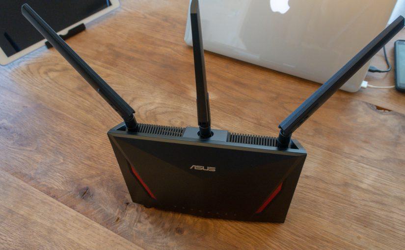 Wi-Fiルーターをメッシュ対応のASUS製のゲーミングルーターに買い替え